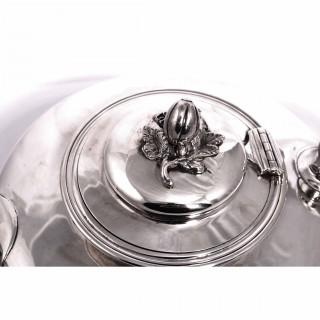 Antique Victorian Silver Teapot 1837