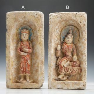 Northern Wei Buddhist Tile