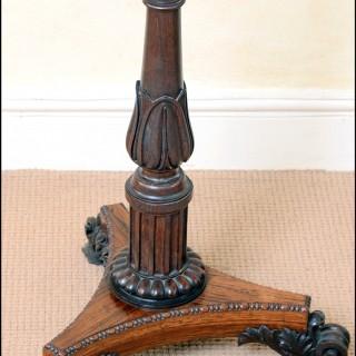 A fine pair Regency rosewood polescreens