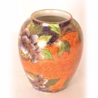 Antique Art Nouveau Lustre Vase by Maling c.1920