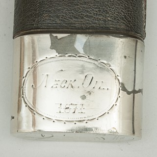 Boxing Hip Flask Bareknuckle Fight