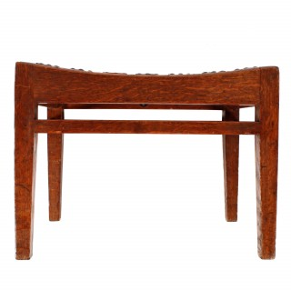 Arthur Simpson Oak Stool
