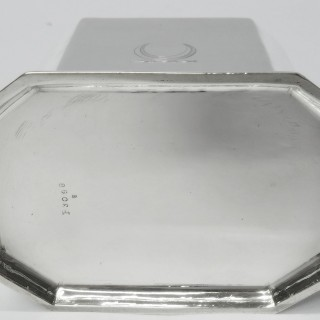 Queen Anne Style Silver Caddy