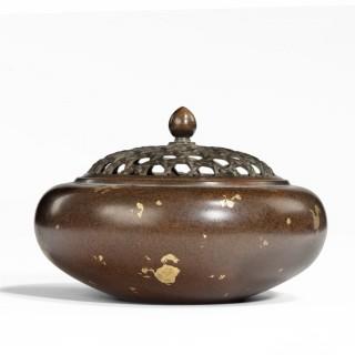 A Japanaese bronze censer