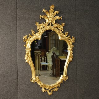 20th Century Venetian Golden Mirror