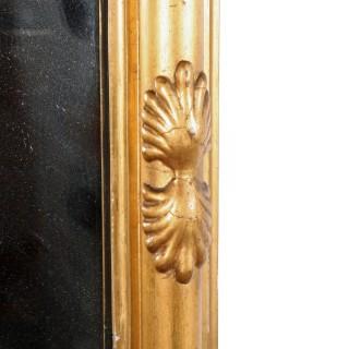 Regency Gilt Wood Pier Glass
