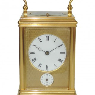 Drocourt  Strike Repeat Alarm Carriage Clock