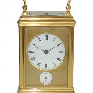 Drocourt  Strike Repeat Alarm Carriage Clock