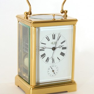 Petite Sonnerie Carriage clock with Centre Seconds