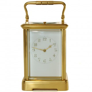 Striking Repeating Carriage Clock with arabic numerals