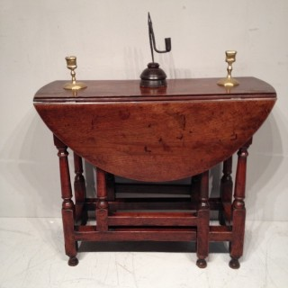Queen Anne  gate leg table.