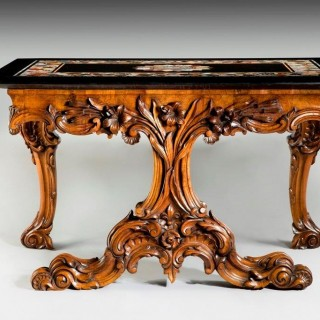 An Early Victorian Ashford Marble Table