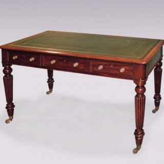 Antique early 19th Century mahogany Writing Table.