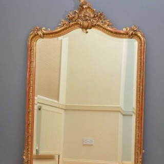 Antique Gilt Mirror Giltwood Wall Mirror