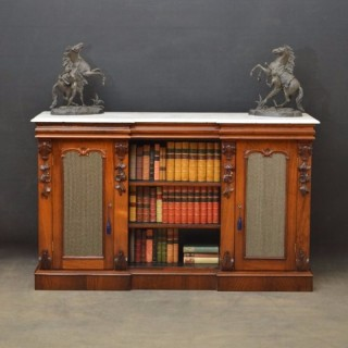 Victorian Rosewood Sideboard or Bookcase