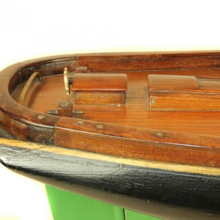 Scratch built model of the American schooner 'Vega'