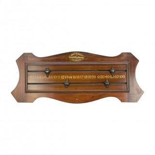 Mahogany Billiard - Snooker Score Board