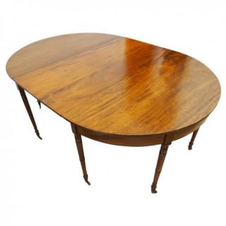 Late George IV Mahogany Dining Table with 1 Leaf