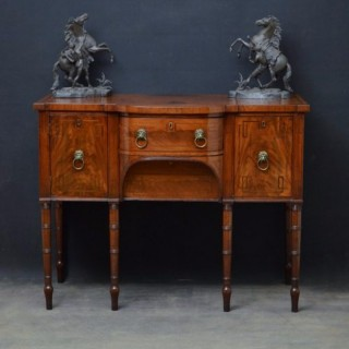 George III Sideboard in Mahogany