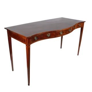 Georgian Three Drawer Serving Table