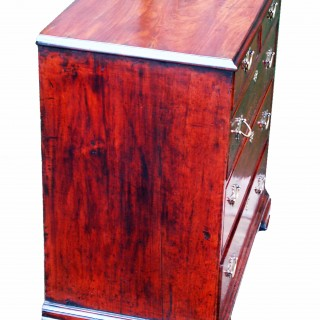 Antique Small 18th Century Mahogany Chest