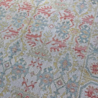 Antique Cuenca Spanish carpet