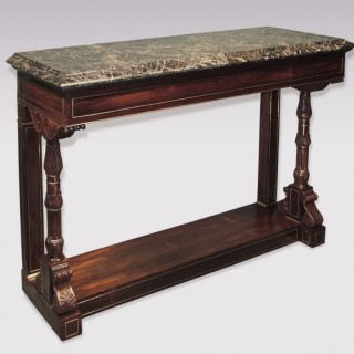 A fine Regency period rosewood Console Table.