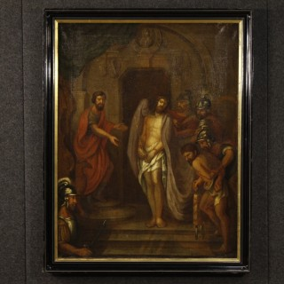 18th Century Religious Painting Passion Of Christ