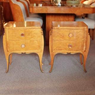 Art Deco Bedside Cabinets