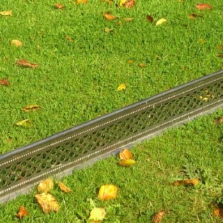 Unusual Antique Fire Fender Unusually Made Of Early Stainless Steel