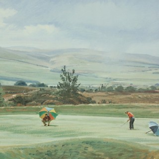 Gleneagles Golf Club by Arthur Weaver