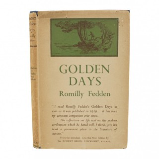 Fishing Book, Golden Days by Romilly Fedden