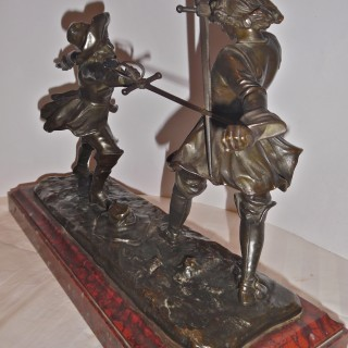 A French bronze sculpture by Edouard Drouot