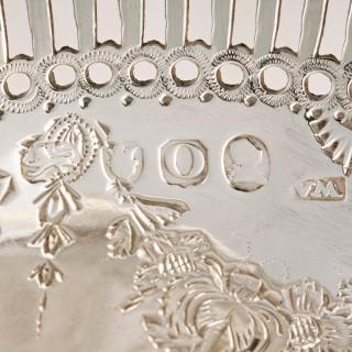 18th Century Georgian Silver Basket