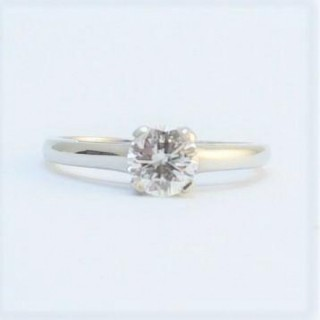 Vintage Diamond Solitaire Engagement Ring 1 Carat