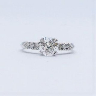 1.25 Carat Diamond Solitaire Engagement Ring