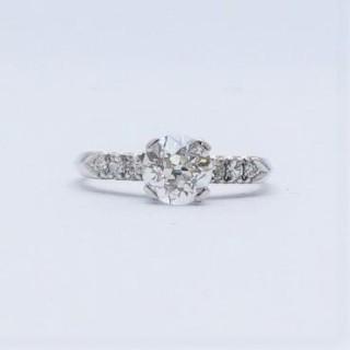 1.25 Carat Diamond Solitaire Engagement Ring