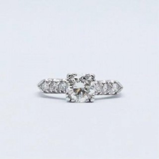 1 Carat Diamond Solitaire Engagement Ring