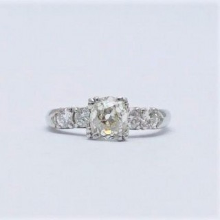 1.15 Carat Diamond Solitaire Engagement Ring