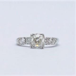 1.15 Carat Diamond Solitaire Engagement Ring