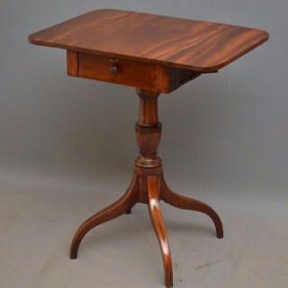 Regency Drop Leaf Table in Mahogany