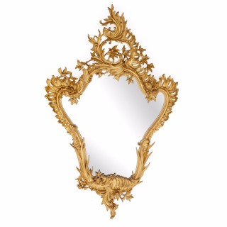 Antique Italian Mirror in the Rococo Style