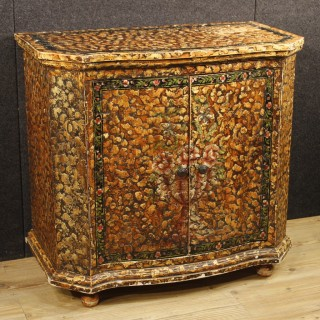 20th Century French Painted Sideboard With Two Doors