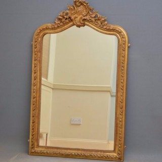 French Gilded Wall Mirror