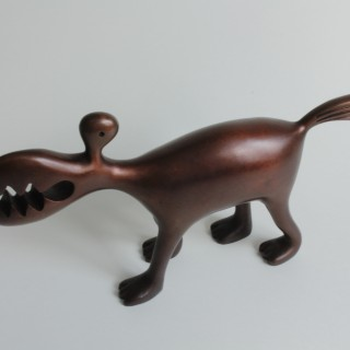 Small Bronze Animal