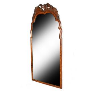 18th Century Dutch Walnut Mirror