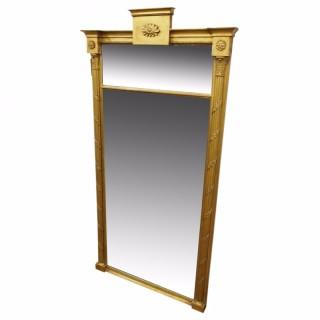 Gilt Wood Pier Mirror