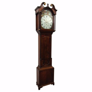 Early Victorian Scottish Grandfather Clock by John Pringle of Earlston