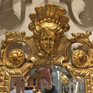 A pair of 19th Century French ormolu wall lights