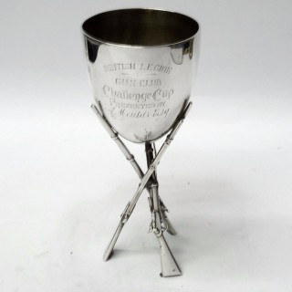 Antique Silver Military Cup